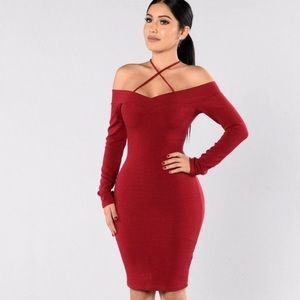 Fashion nova midi dress